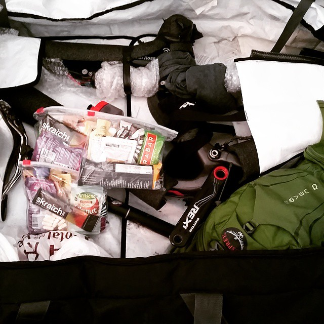 packing for a race