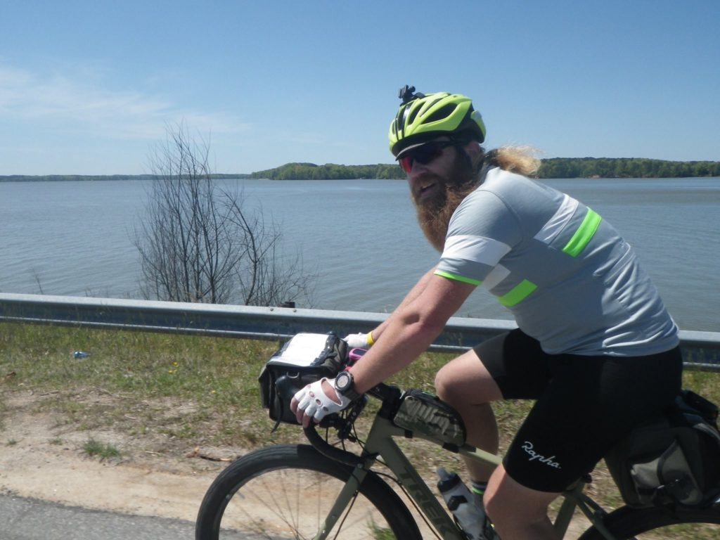 Potential Energy Training athlete, Tim Snyder focuses his training on big endurance rides - up to 1200K!
