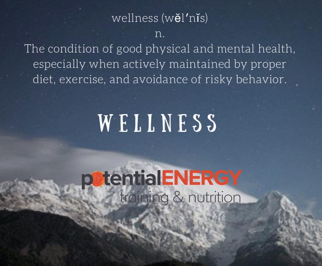 wellness screenshot